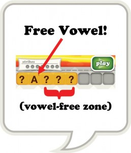 Free Vowel and the Vowel-Free Zone